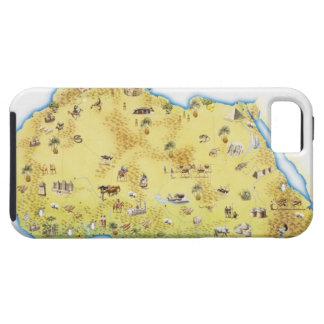 Map of South Africa 2 iPhone 5 Cover
