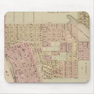Map of Stillwater, Washington County, Minnesota Mouse Pad