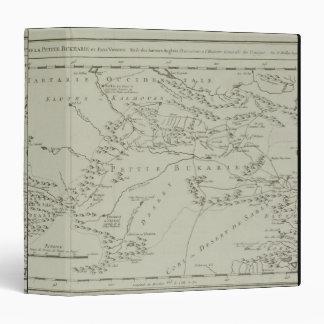Map of Tartaria in China Vinyl Binders