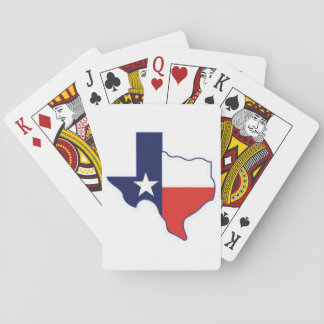 MAP OF TEXAS PLAYING CARDS