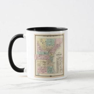 Map of the City of Milwaukee, Milwaukee Co Mug