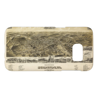 Map of the City of Staunton, Virginia (1891) Samsung Galaxy S7 Case