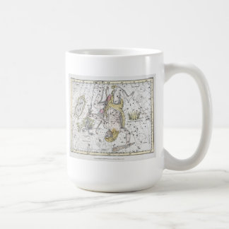 Map of The Constellations Plate VIII Coffee Mug