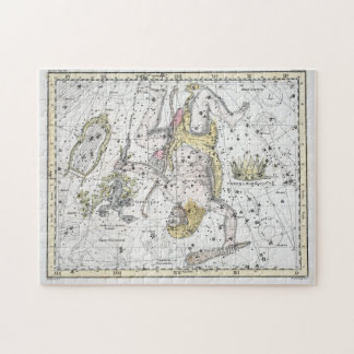 Map of The Constellations Plate VIII Jigsaw Puzzle