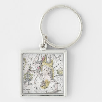 Map of The Constellations Plate VIII Keychain