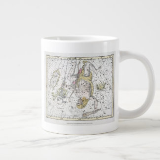 Map of The Constellations Plate VIII Large Coffee Mug