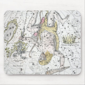 Map of The Constellations Plate VIII Mouse Pad