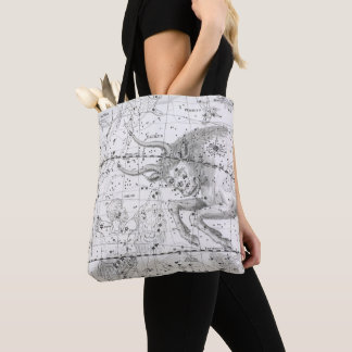 Map of The Constellations Plate XIV Tote Bag