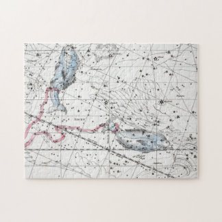 Map of The Constellations Plate XXII Jigsaw Puzzle