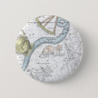 Map of The Constellations Plate XXVI 2 Inch Round Button