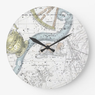 Map of The Constellations Plate XXVI Large Clock