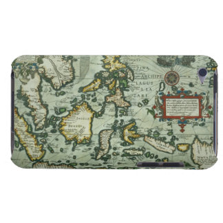 Map of the East Indies, pub. 1635 in Amsterdam (ha iPod Case-Mate Cases