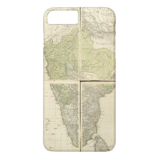 Map of the East Indies with the Roads (1768) iPhone 8 Plus/7 Plus Case