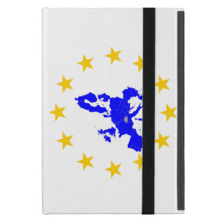 Map of the European union with star circle Cover For iPad Mini