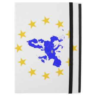 "Map of the European union with star circle iPad Pro 12.9"" Case"