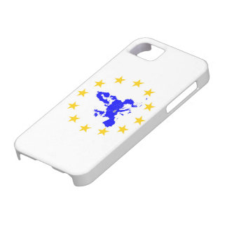 Map of the European union with star circle iPhone 5 Covers