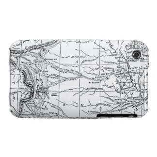Map of the Gold Region, published in 'The Weekly' iPhone 3 Cover