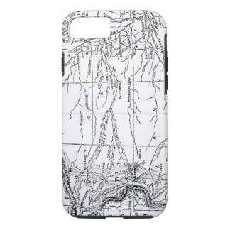 Map of the Gold Region, published in 'The Weekly' iPhone 7 Case
