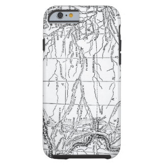 Map of the Gold Region, published in 'The Weekly' Tough iPhone 6 Case