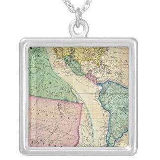 Map of the Gold Regions of California Pendants