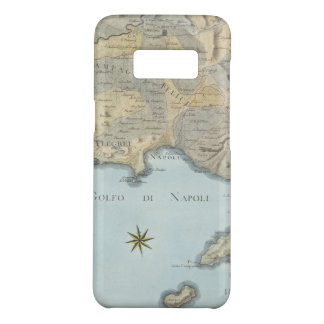 Map of the Gulf of Naples and Surrounding Area Case-Mate Samsung Galaxy S8 Case