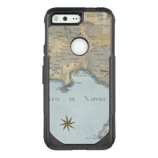 Map of the Gulf of Naples and Surrounding Area OtterBox Commuter Google Pixel Case