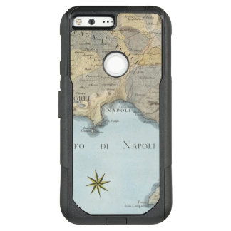 Map of the Gulf of Naples and Surrounding Area OtterBox Commuter Google Pixel XL Case