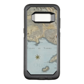 Map of the Gulf of Naples and Surrounding Area OtterBox Commuter Samsung Galaxy S8 Case