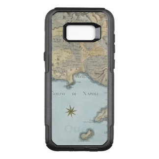 Map of the Gulf of Naples and Surrounding Area OtterBox Commuter Samsung Galaxy S8+ Case