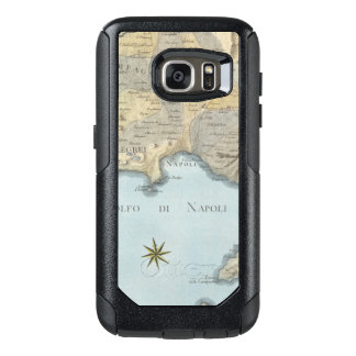Map of the Gulf of Naples and Surrounding Area OtterBox Samsung Galaxy S7 Case