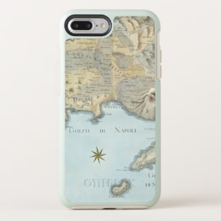Map of the Gulf of Naples and Surrounding Area OtterBox Symmetry iPhone 8 Plus/7 Plus Case
