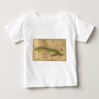 Map of the Island of Cuba by Joan Vinckeboons 1639 Baby T-Shirt