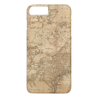 Map of the Northern and Middle States 2 iPhone 7 Plus Case