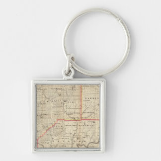 Map of the Oil Region of Pennsylvania Key Chain