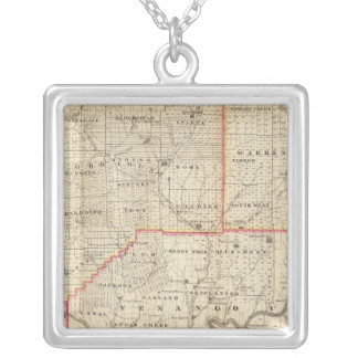 Map of the Oil Region of Pennsylvania Jewelry