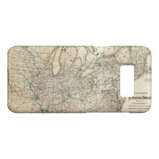 Map of the Pennsylvania Railroad (1871) Case-Mate Samsung Galaxy S8 Case