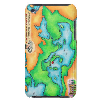 Map of the Roman Empire iPod Case-Mate Case