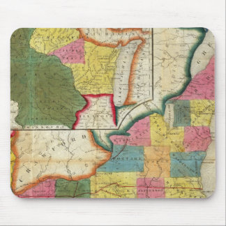 Map of the Settled Wisconsin Territory Mouse Pad