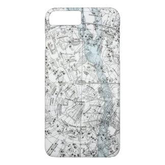 Map of The Southern Hemisphere Plate XXVIII iPhone 8 Plus/7 Plus Case
