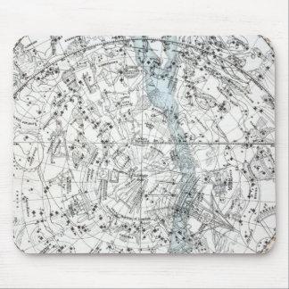 Map of The Southern Hemisphere Plate XXVIII Mouse Pad