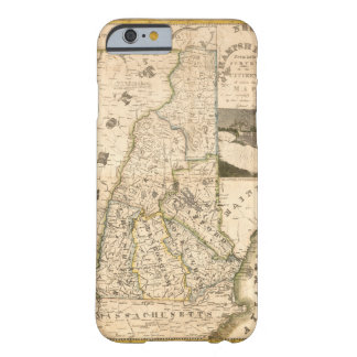Map of the State of New Hampshire (1817) Barely There iPhone 6 Case