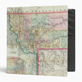 Map Of The Territory Of Montana Binder
