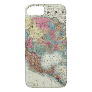 Map Of The United States, Canada, Mexico iPhone 7 Case