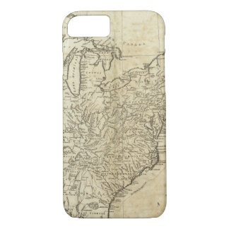 Map of the United States of America iPhone 7 Case