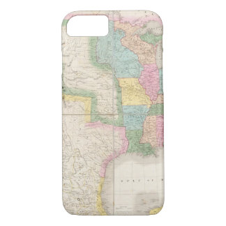 Map of the United States Of North America iPhone 7 Case