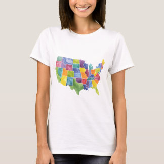 Map of the United States T-Shirt