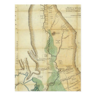 Map of the Valley of the Sacramento Postcard
