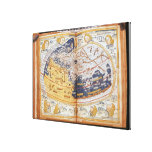 Map of the world, 1486 canvas print