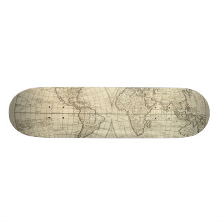 Map of the World 2 2 Skateboards