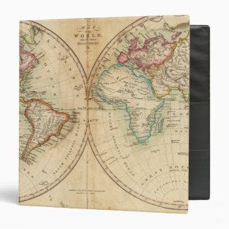Map of the World 3 Vinyl Binders
